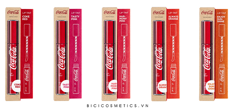 The Face Shop Cocacola Lip Tint14 -BICI COSMETICS