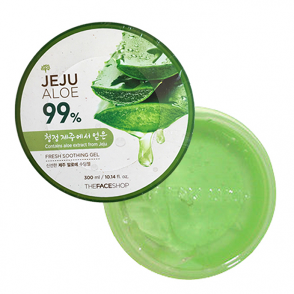 Gel Dưỡng Da Lô Hội The Face Shop Jeju Aloe Fresh Soothing