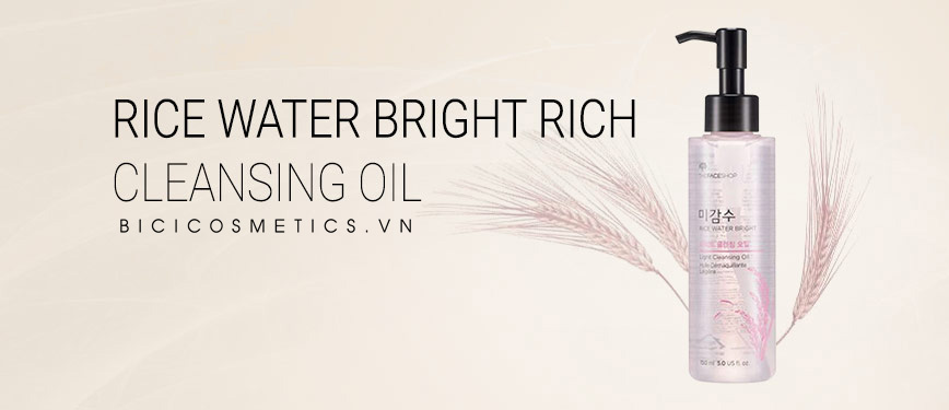 The Face Shop Rice Water Bright Cleansing Oil 10- Bici Cosmetics