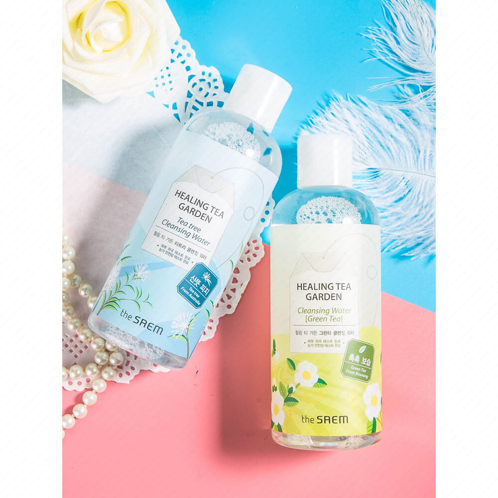 The Saem Healing Tea Garden Cleansing Water - Bici Cosmetics