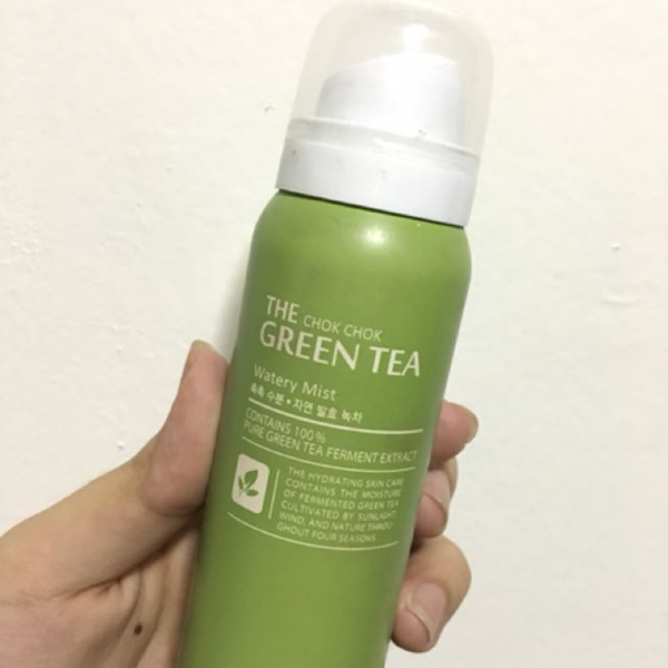 Xịt Khoáng The Chok Chok Green Tea Watery Mist