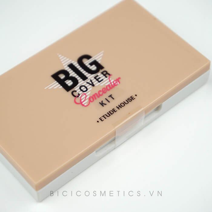 Bộ kem che khuyết điểm 3 màu Etude House Big Cover Concealer Kit - Bicicosmetics.vn