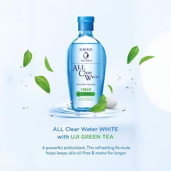nước tẩy trang Senka All Clear Water- tẩy trang mắt môi-bicicosmetics.vn