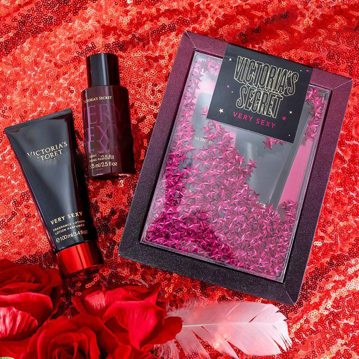 Victoria's Secret Very Sexy Mist & Lotion Gift Set 2- Bici Cosmetics