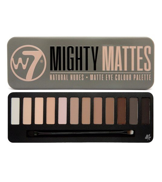 Phấn mắt W7 Mighty Mattes Natural Nudes Eye Colour Palette
