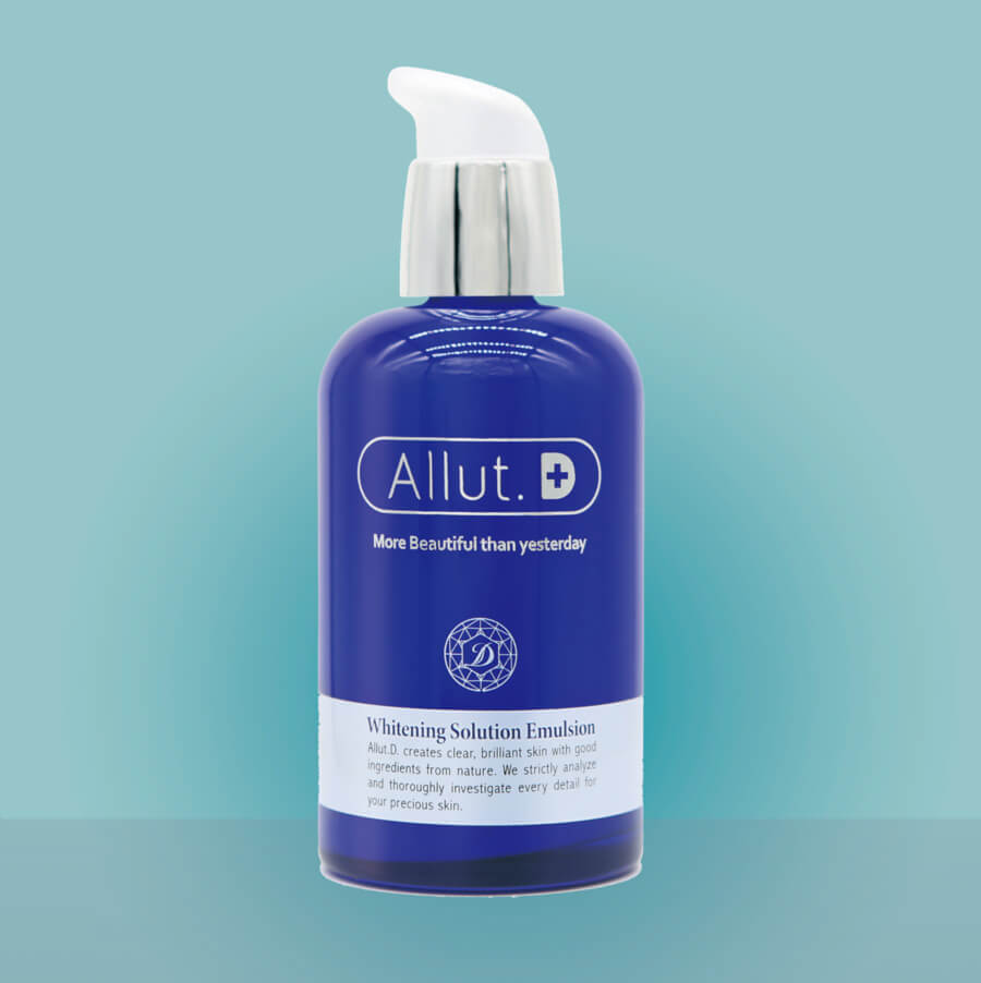Allut.D Whitening Solution Emulsion-bicicosmetics.vn