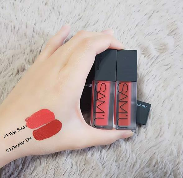 [HOT TREND 2018] Son kem lì SAM'U Fluid Matte Lip Tint