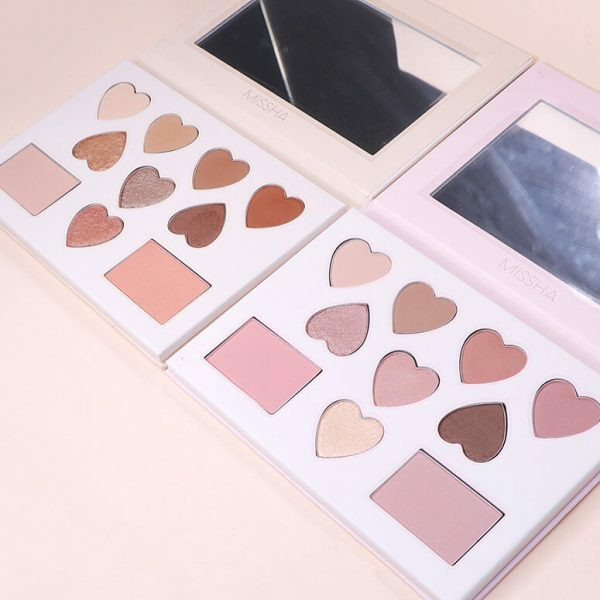 Phấn Mắt Missha x Line Friends Color Filter Shadow Palette