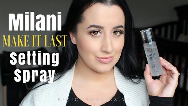 xịt khóa make up Milani Make It Last Setting Spray-03 Make It Last 1