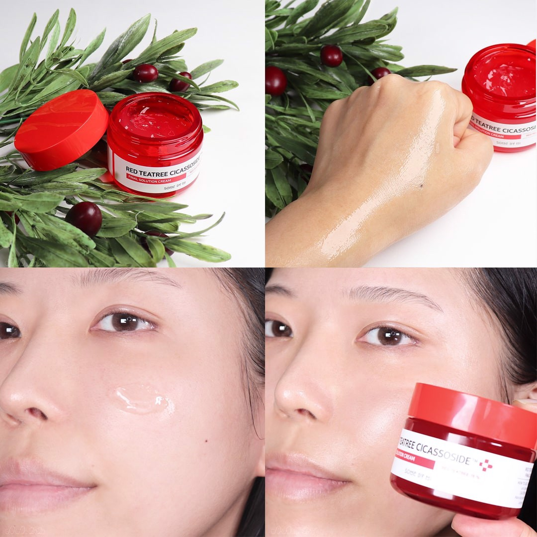 Kem Dưỡng Giảm Mụn Some By Mi Red Teatree Cicassoside Final Solution Cream