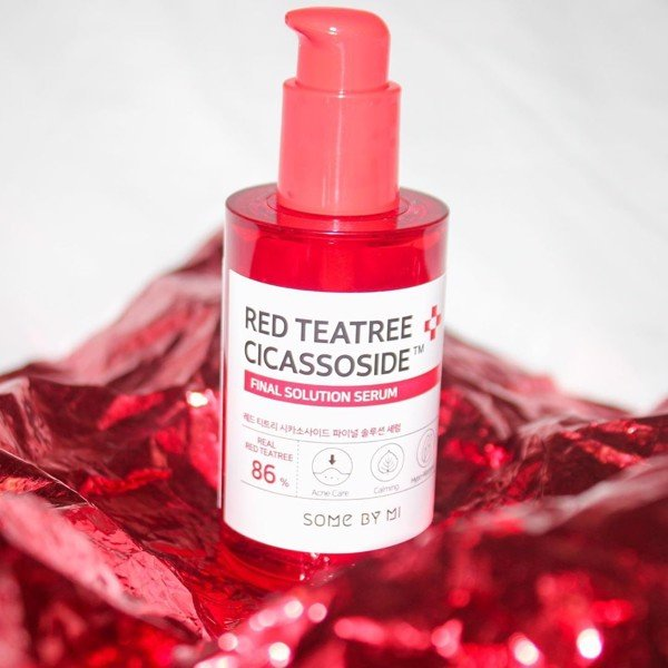 Tinh chất tràm trà đỏ Some By Mi Red Teatree Cicassoside Final Solution Serum 50ml