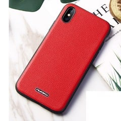 Ốp lưng iPhone Xs Max NUOKU Jazz Leather Bumper