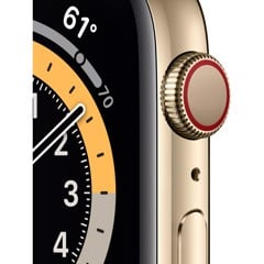 Apple Watch Series 6 LTE - Thép Gold 44mm (Nhập Khẩu)
