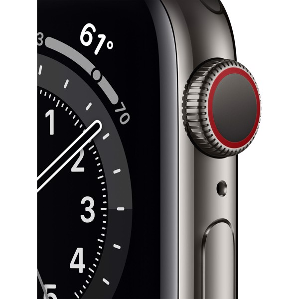 Apple Watch Series 6 LTE - Thép Gray 40mm (Nhập Khẩu)