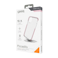 Ốp lưng chống sốc Gear4 D3O Piccadilly 4m cho iPhone 11 Pro Max