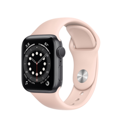 Apple Watch Series 6 GPS - Nhôm gray 44mm M02F3 (nhập khẩu)