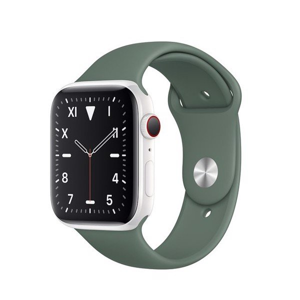 Apple Watch Series 5 Ceramic / Green Band (LTE) 44mm