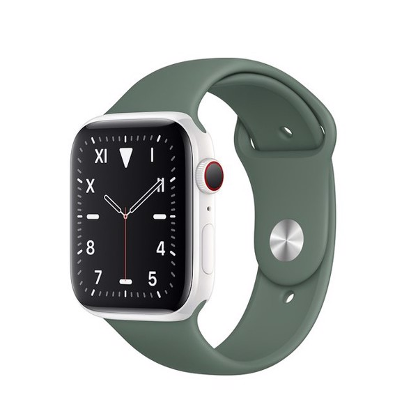 Apple Watch Series 5 Ceramic / Green Band (LTE) 40mm