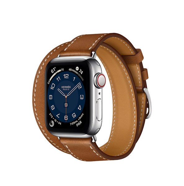 Apple Watch Series 6 LTE - HERMES 44 Butterfly Brown