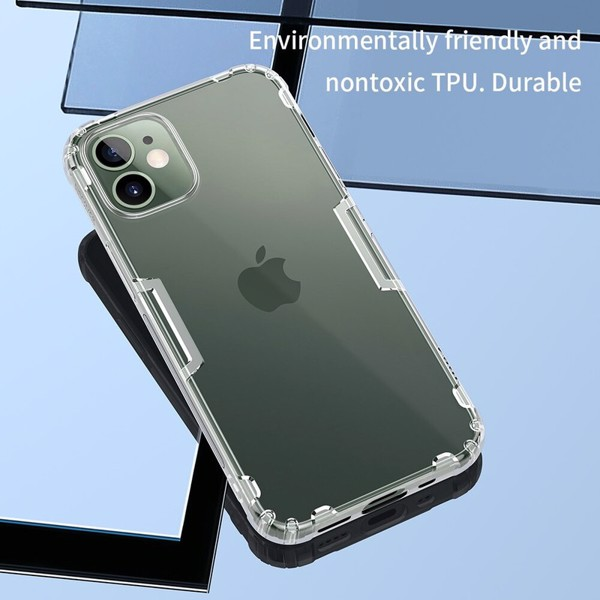 Ốp lưng Nillkin Nature TPU Case Trong Suốt cho iPhone 12 Series