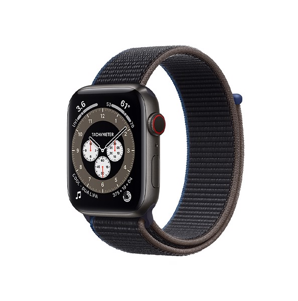 Apple Watch Series 6 LTE - Titan 40mm Gray Dây Vải