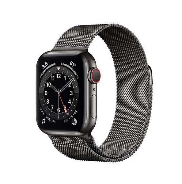 Apple Watch Series 6 LTE - Thép 44mm Dây Thép