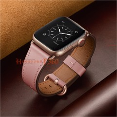 Dây da Apple Watch - Pink