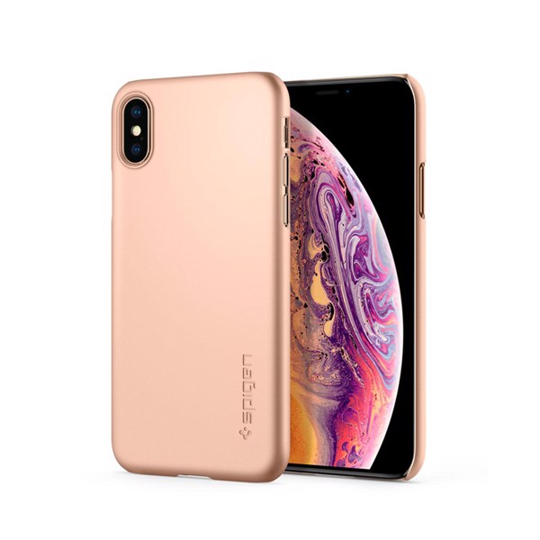 Ốp lưng cho iPhone XS Max Spigen Thin Fit