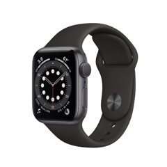 Apple Watch Series 6 GPS - Nhôm đen 40mm MG133 (nhập khẩu)