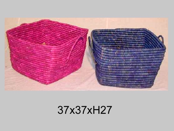 Rổ CR004 || Rattan basket CR004