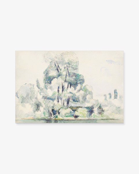 Tranh Tree Landscape Painting