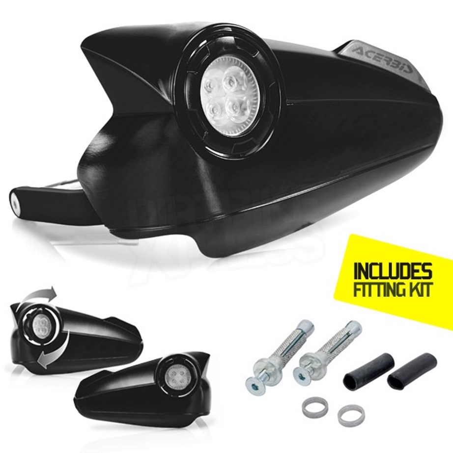 Acerbis LED Vision hand guard