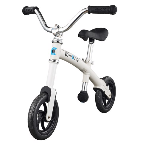Micro G-Bike Chopper White Matt - GB0022