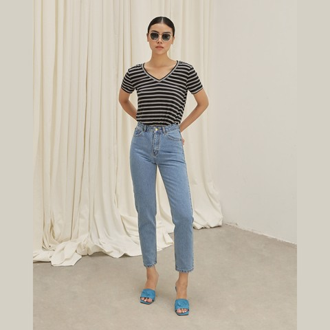 Quần Mom Jeans COCO SIN