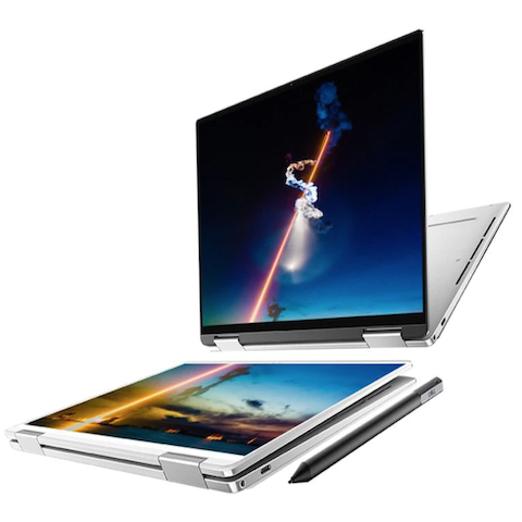DELL XPS 7390 2IN1 -I3-1005G1/4GB /256GB/FHD TOUCH 13.4