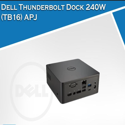 DELL TB16 THUNDERBOLT DOCK – 240W ADAPTER