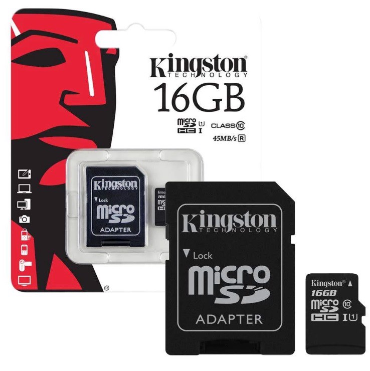 Thẻ nhớ Kingston 16GB Micro SD Class 10