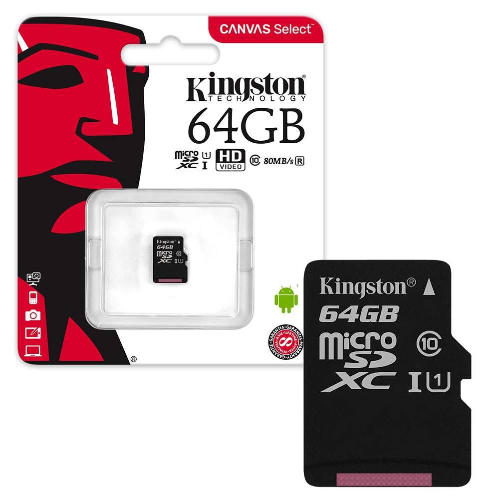 Thẻ nhớ Kingston 64GB Micro SD Class 10