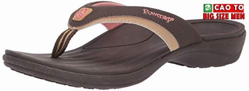 DÉP KẸP BIG SIZE POWER STEP NL BROWN