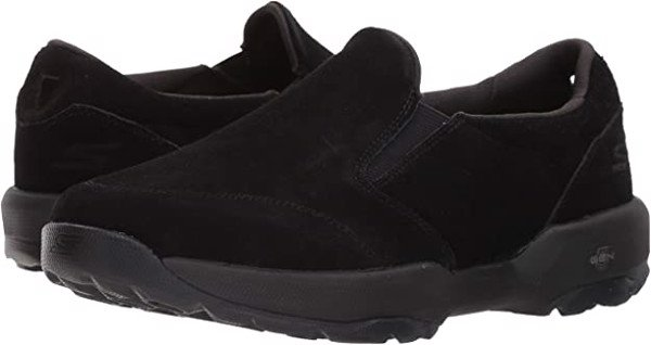 Giày Lười Skecher Da Full Black Big Size 45 46 47 48