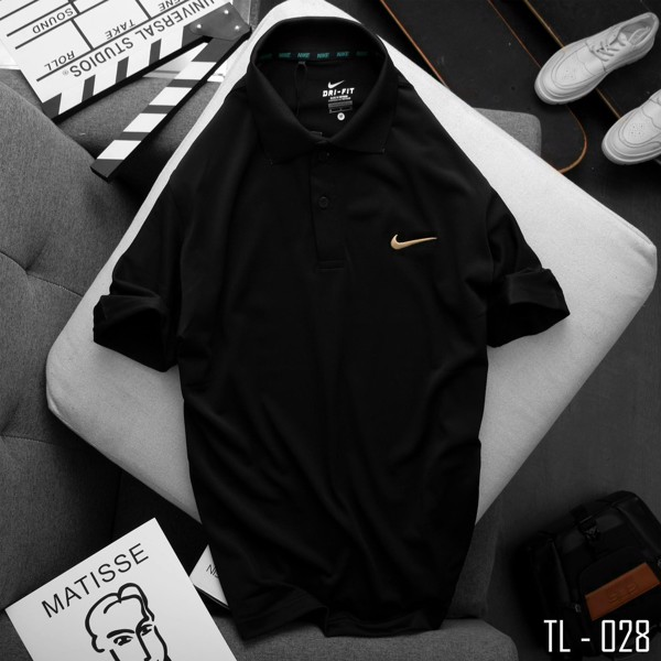 Áo Polo Golf Đen Big Size 3XL 4XL