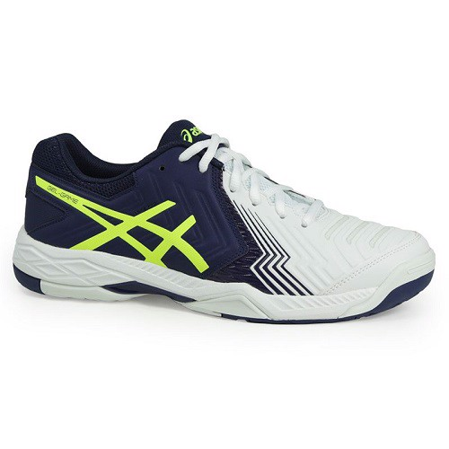 Giày Tennis Asics Gel-Game White BLue Big Size