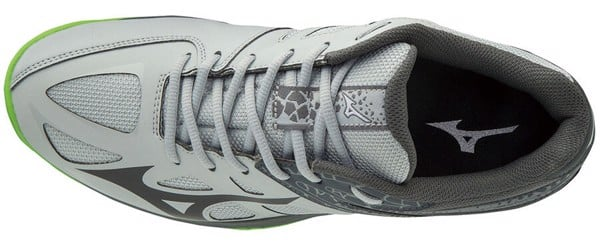 Giày Tennis Mizuno Thunder Blade Grey Big Size Men 46,47,48,49