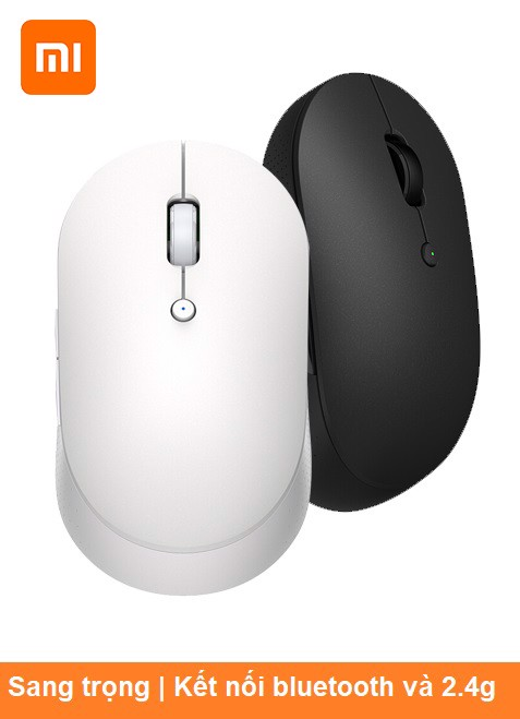 Chuột 2 chuẩn kết nối Xiaomi Mouse Silent Edition