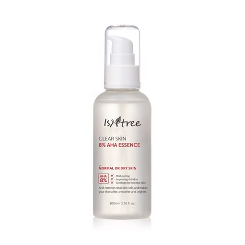 ISNTREE Clear Skin 8% AHA Essence (100ml)