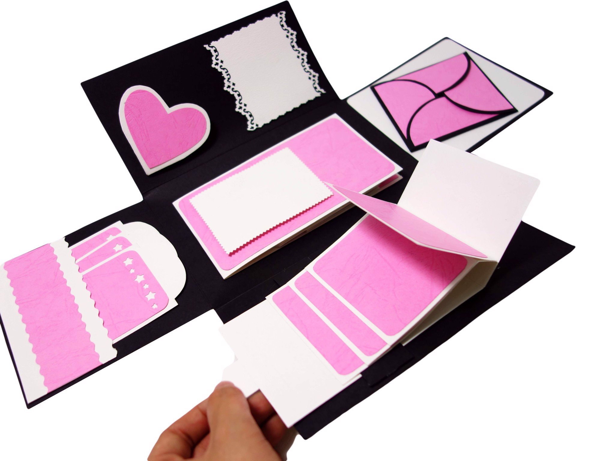 Thiệp Scrapbook Pop-up