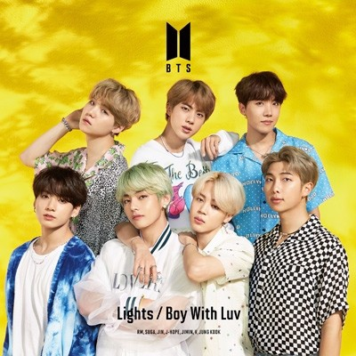 BTS - Lights/ Boy with luv ver C