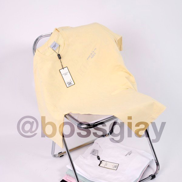 TEE ADLV BASIC YELLOW