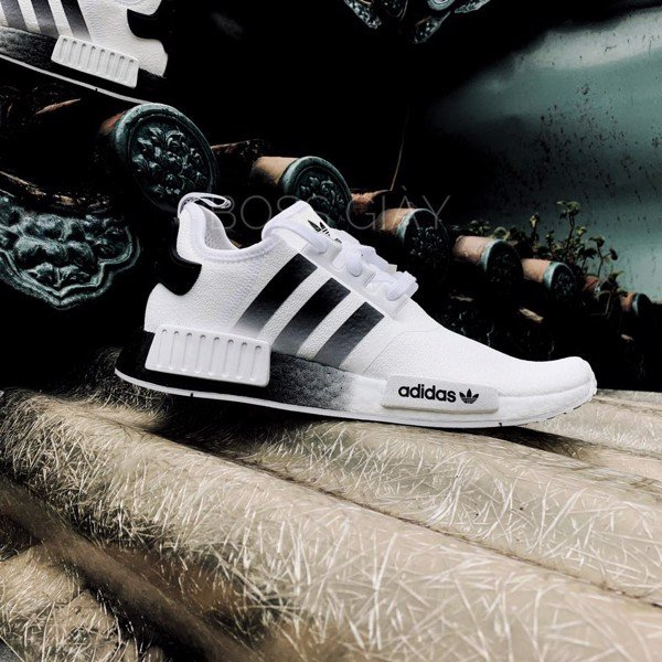 NMD R1 WHITE BLACK GRADIENT