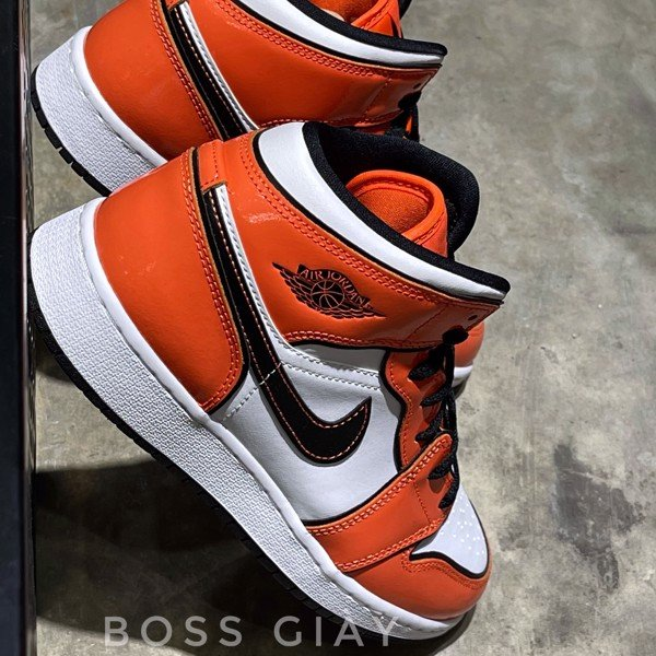 [BQ6931-802] JORDAN 1 MID TURF ORANGE